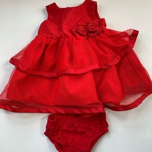Carters formal newborn dress